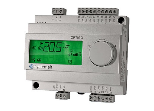 Optigo - Other Electrical. vent. Control equipment - Electrical accessories Ventilation - Fans & Accessories - Products - Systemair