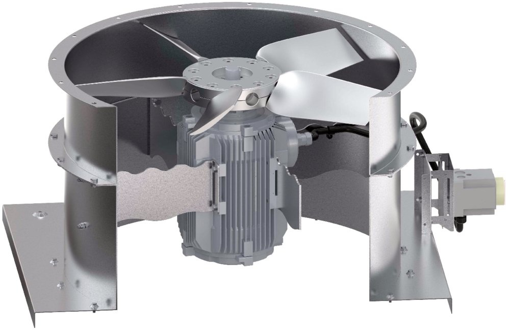 Roof Axial fans
