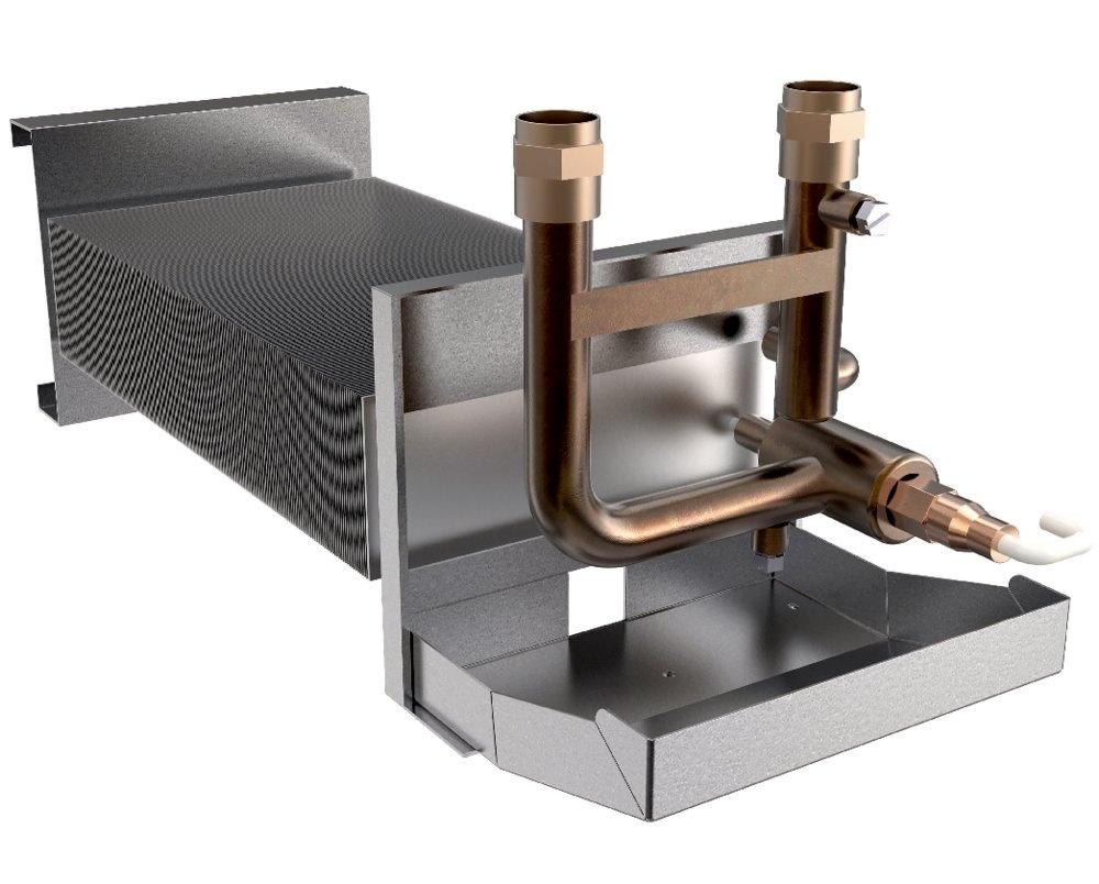 Water coil VTR 300 ohrievač - Systemair