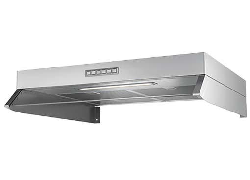 Cooker hoods for EC fans