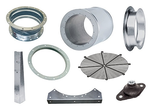 Accessories Axial fans - Systemair