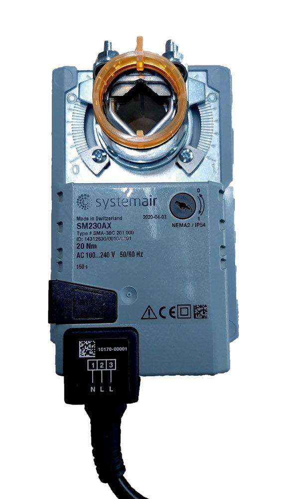 AM 230, Servomotor 230V, 1-dr - Systemair