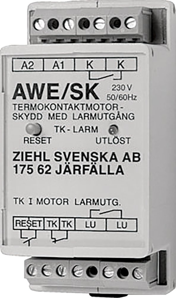 AWE-SK Защита,ел.дви.4A/230V - Systemair