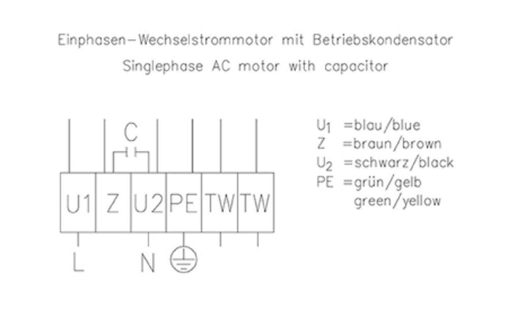 Images Wiring - AR200E4 sileo Ventilador axial - Systemair