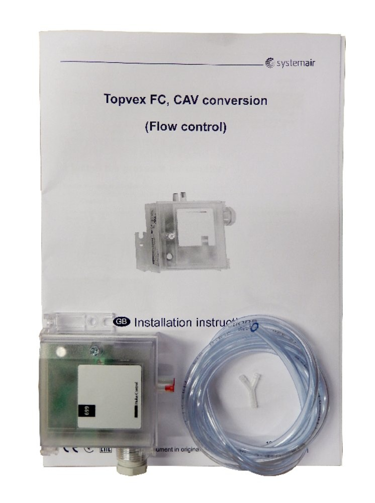 CAV Air volume contr 0-2500Pa - Systemair