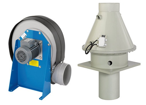 Ventilateurs centrifuges - Systemair