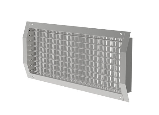 Grilles pour gaines circulaires - Systemair