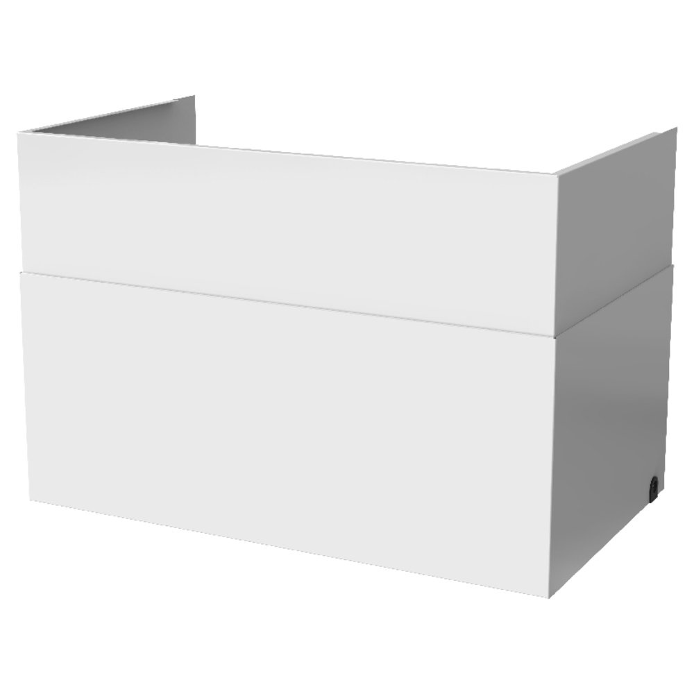 Duct Cover White VTR 100/B