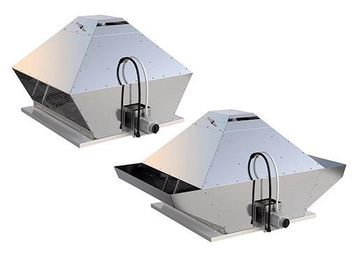DVG - Dūmų šalinimo stoginiai ventiliatoriai - Dūmų šalinimo ventiliatoriai - Ventiliacijos sistemos - Produktai - Systemair