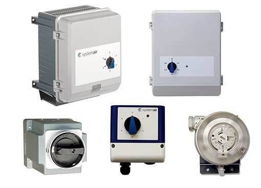 Electrical accessories Ventilation - Systemair