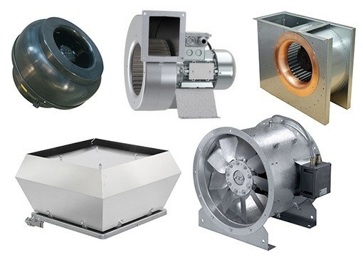 Explosion proof fans