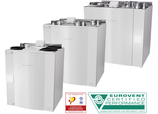 SAVE - Top connected - Counter flow units - Residential Systems - Productos - Systemair