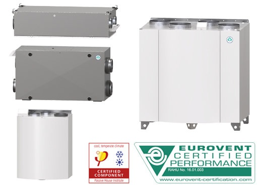 warmtewiel units - Systemair