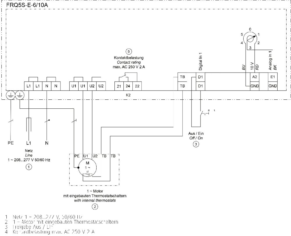 Images Wiring - FRQ5S-E-10A Frequenzumf. - Systemair