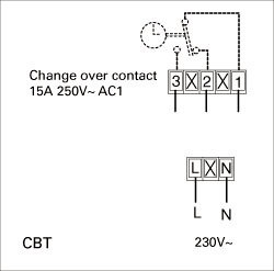 Images Wiring - CBT Timer - Systemair