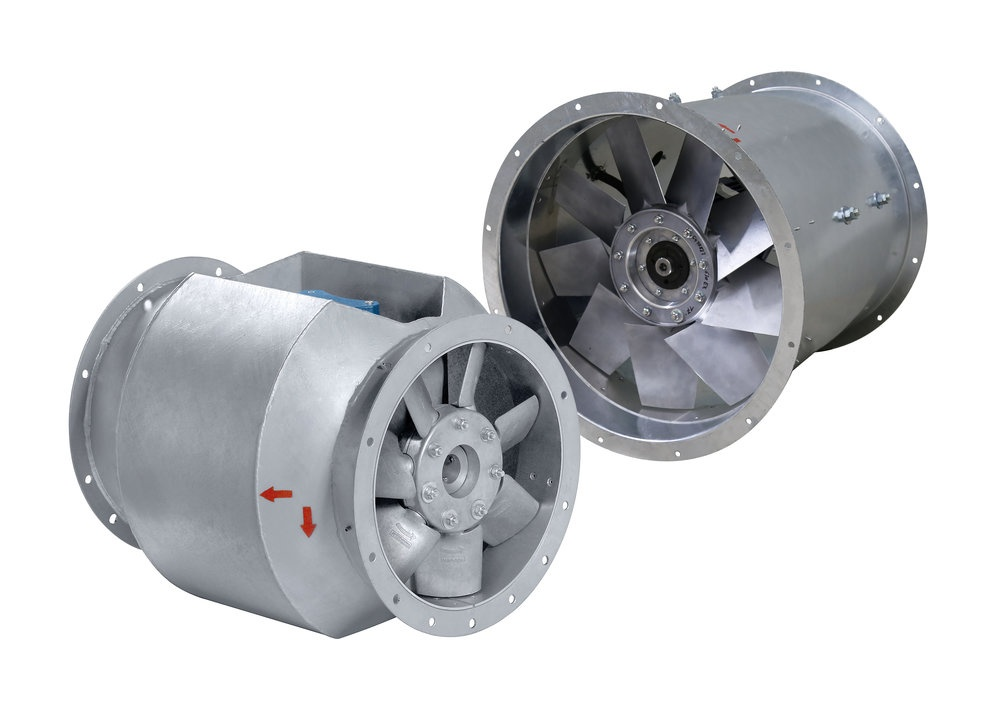 Medium pressure Axial EX fans