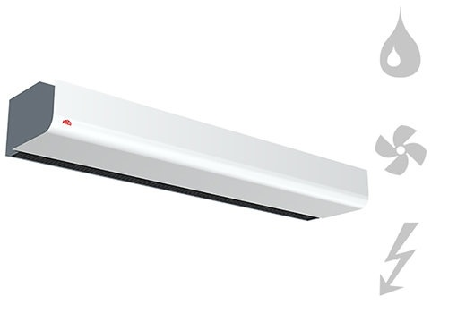 PA2500 - Entrances - Air Curtains - Heating - Products - Systemair
