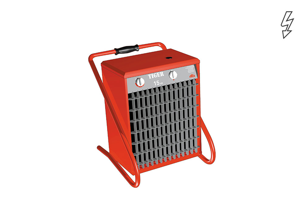Tiger - Portable fan heaters - Fan Heaters - Heating - Products - Systemair