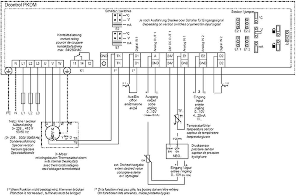 Pkdm 12 Stufenl  Leistungsteil