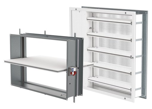 Rectangular Fire dampers - Systemair