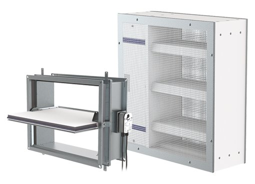 Rectangular Smoke Control Dampers - Systemair