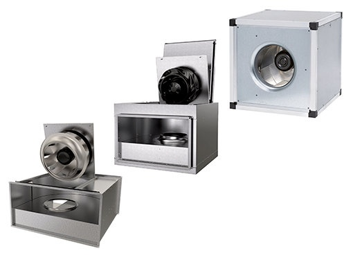 Rectangular & Square Duct fans - Systemair