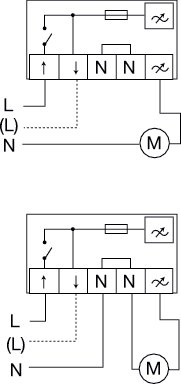 Images Wiring - REE 2 Speed control - Systemair