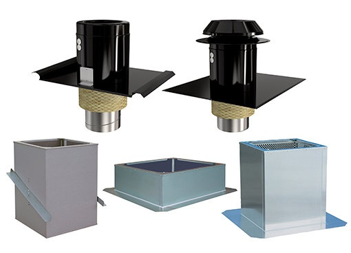 Roof Hoods & Curbs - Systemair
