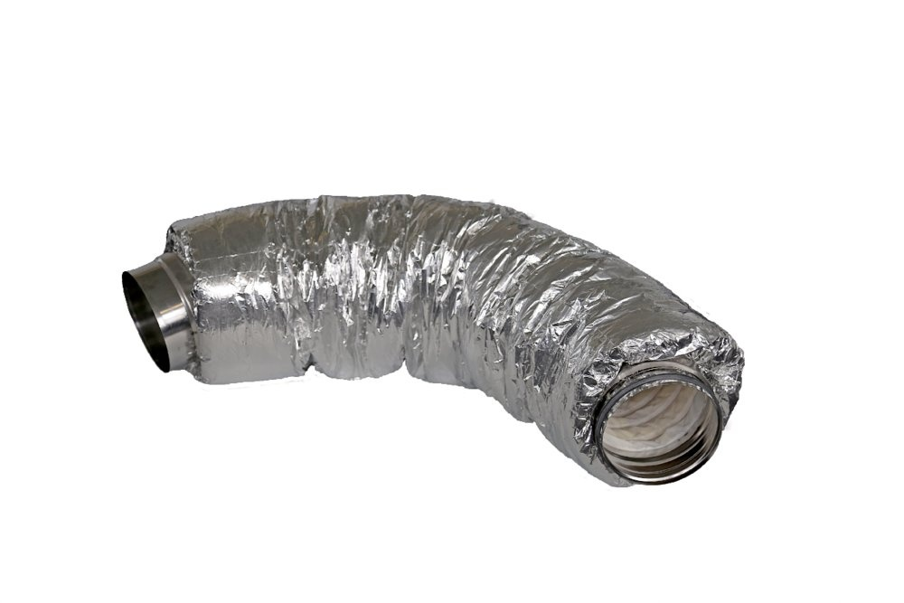 SCD 200 silencer 50mm insulat. - FLEX-DUCTS - Systemair