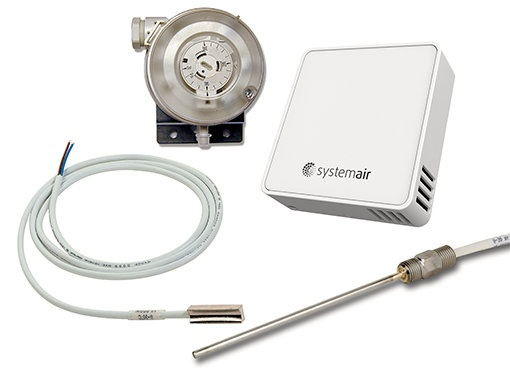 Sensors and transmitters - Systemair