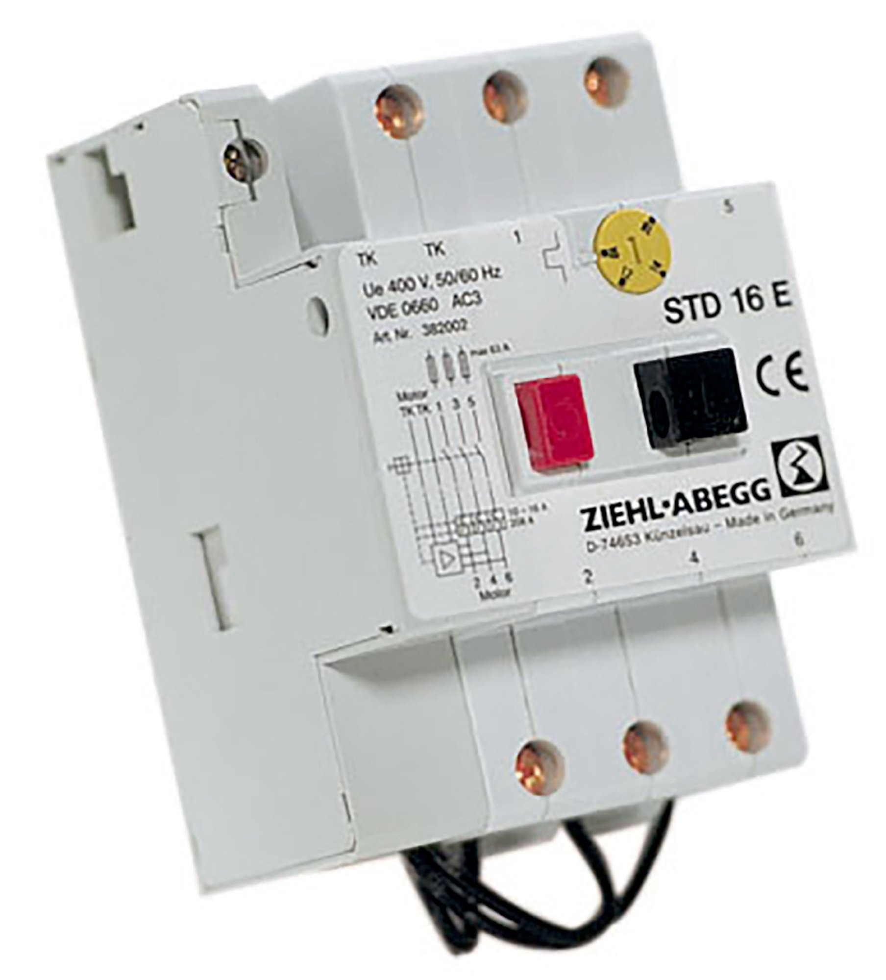 STDT 16E Motor Protection - Systemair