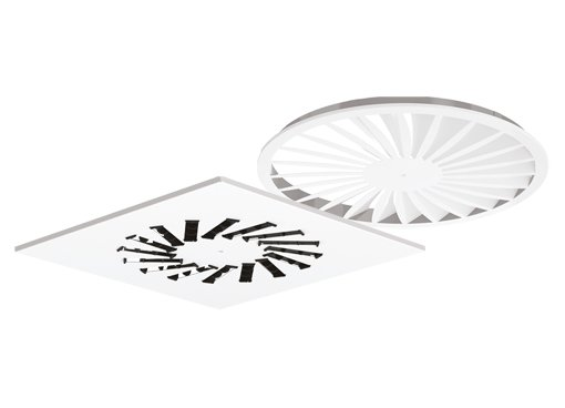 Swirl diffusers - Diffusers - Air Distribution Products - Productos - Systemair