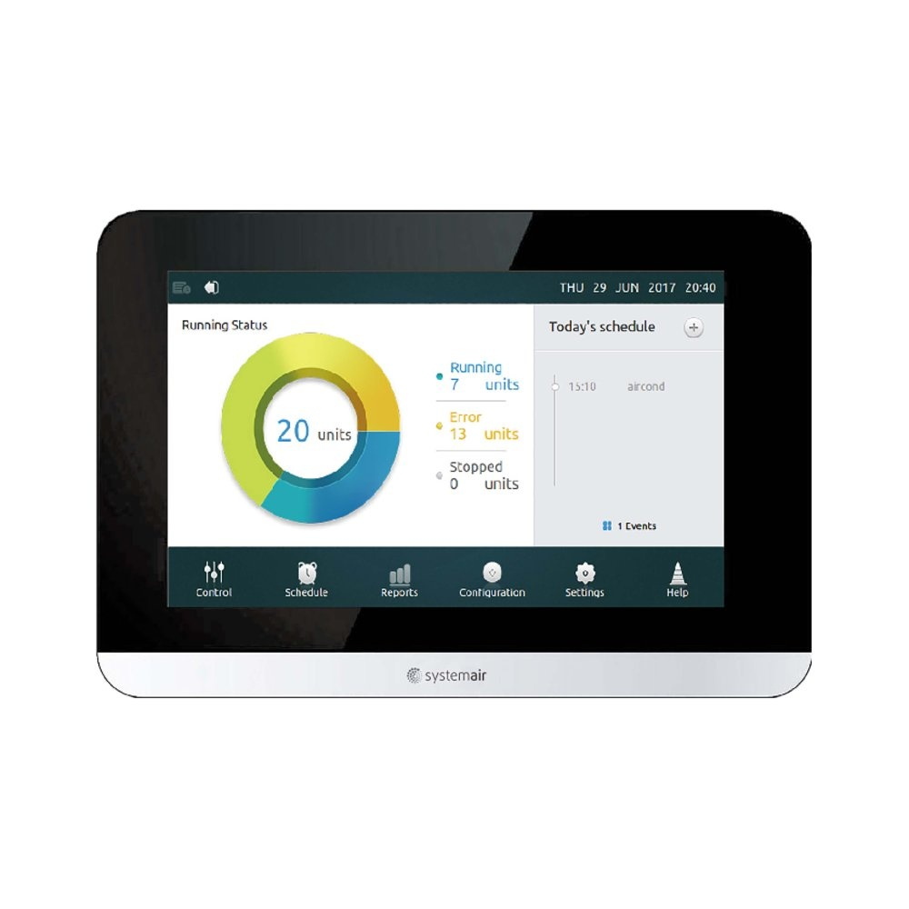 SYS CWC TOUCH 6.2 - Systemair