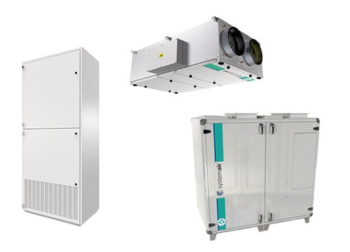 Commercial Recovery Ventilators - Systemair