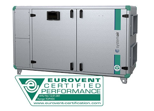 TOPVEX SXC - Horizontal units - Compact AHU - Air Handling Units - Products - Systemair