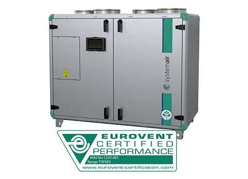Vertical units - Systemair