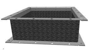 D160 Vierkante flex.verbinding - Systemair