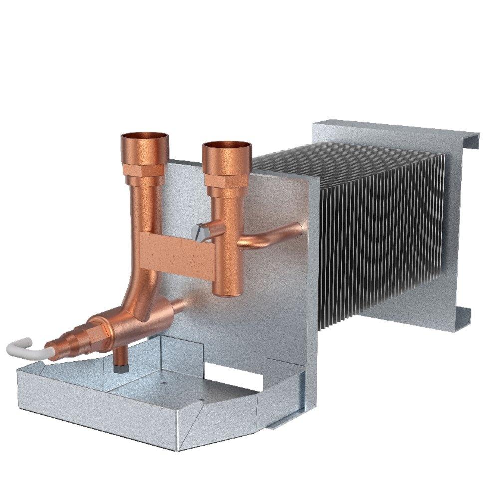 Water coil VTR 250/B ohrievač