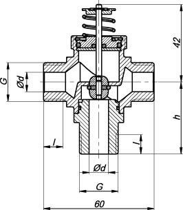 Images Dimensions - ZTR 20-2,0 valve 3-way - Systemair